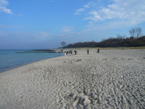 Strand Ende Oktober 2011