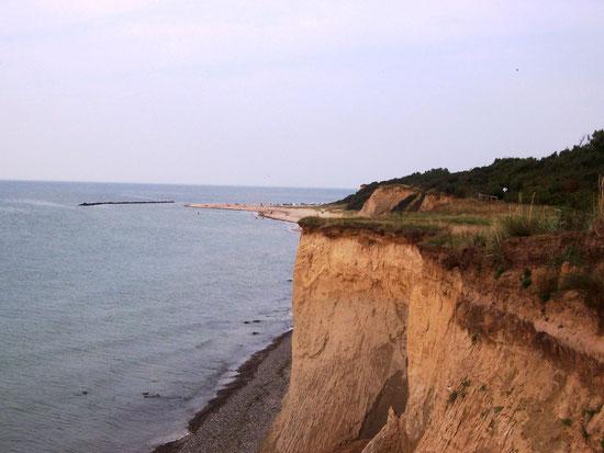Steilküste Weg Ahrenshoop-Wustrow