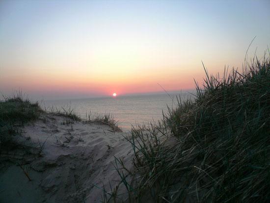 Sonnenuntergang Ostersamstag 2011