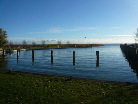 Hafen ohne Schiffe