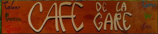 Café de la gare - 11, Route de Beg ar Groas - 29 800 LA FOREST-LANDERNEAU Tel : 02 98 20 20 80