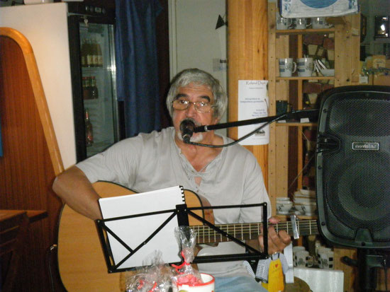 C'était le 19 août 2015 à bord de fleur des thés à Argenton en Landunvez (Finistère)