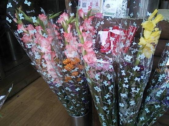 お盆用仏花