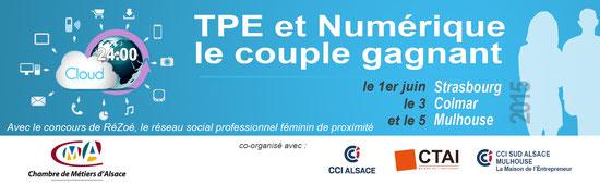 TPE & Numérique 2015 organisé par la Chambre de Métiers d'Alsace
