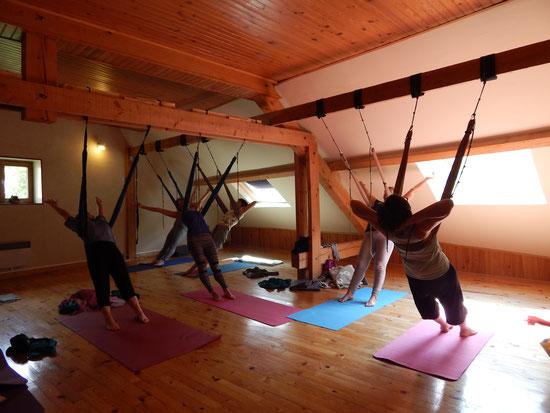 Yoga swing - Yoga aérien - Grimone JYOTI-YOGI