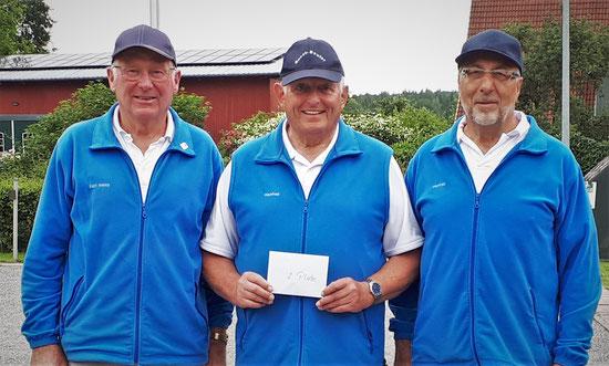 Karl-Heinz, Manfred H. und Manfred T. - Geest-Bouler Breklum - 2. Platz