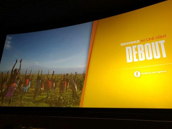 Ciné-Débat Film DEBOUT organisé par VIA ENERGETICA