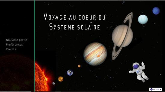 système solaire astronomie jeux Mission Alpha Thomas Pesquet Marche vers la Lune sciences astronomie expériences école classe cycle 2 cycle 3 collège lycée