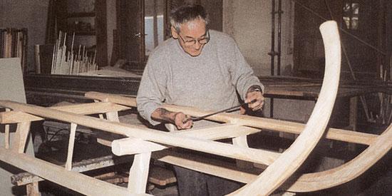 Peter Moser sen. Gründer der Schreinerei in Nußdorf