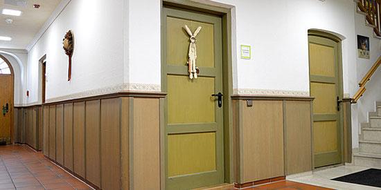 Sanierung Altbau, Brandschutztüren Seniorenheim Flintsbach, Peter Moser