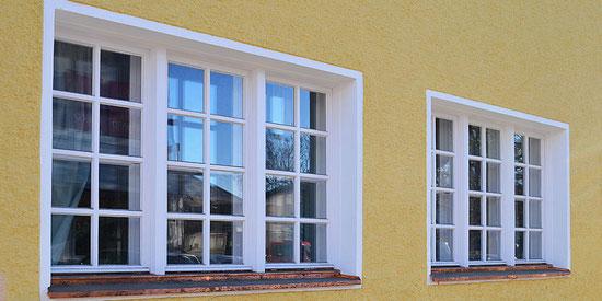 Fenstersanierung, Peter Moser, Nußdorf
