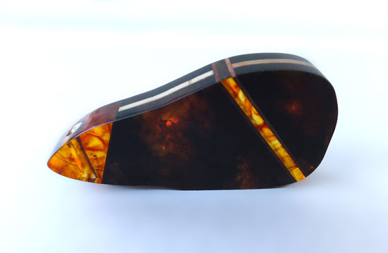 Formed amber, press amber, wood