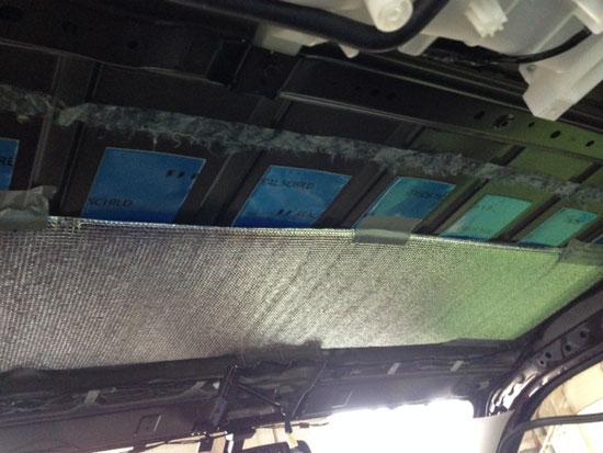 ハイエース、NV350キャラバンに断熱防音加工するならOSP!