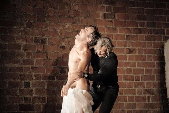 """Hamlet"" (Shakespeare) Ophelia, R: Kai-Frederic Schrickel, Neues Globe Theater, Berlin 2015"
