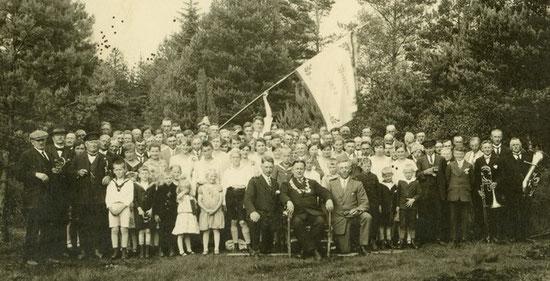 Schützenfest am 10.06.1929