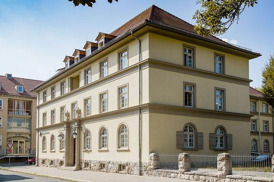 Unsere Frauenarzt- Praxis in der Gerhart-Hauptmann-Str. 6, Weimar