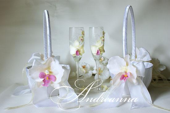 корзиночка для лепестков роз бежевая орхидея стоимость одной корзинки 350 грн