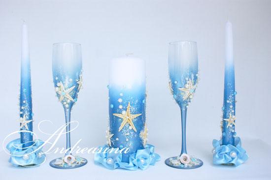 """Свечи """"Симеиз"""", стоимость набора 600 грн (возможно выполнение в любом цвете)"""