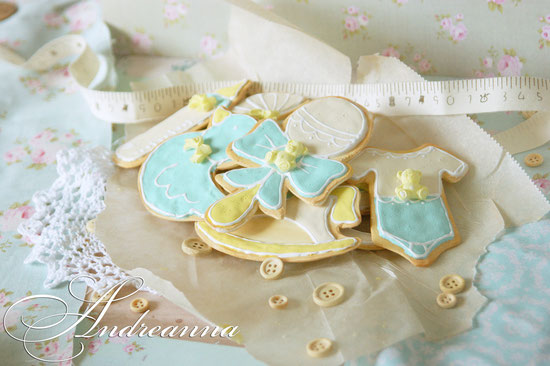 Набор имбирного печенья для малыша (НЕ СЪЕДОБНЫЙ) для фотосессии. С ароматом выпечки. Стоимость набора 650грн