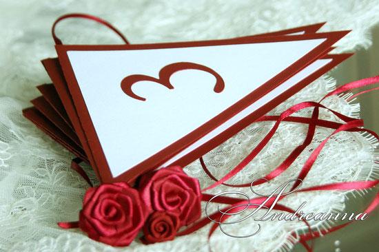 Гирлянда с датой свадьбы, стоимость 1 флажка 15грн. Изготовление в любом цветовом решение.
