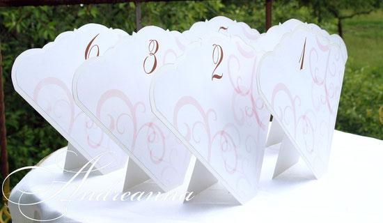 Мини-планы рассадки «Фламенко» (имена гостей могу вписываться в ручную или печать – по желанию) стоимость 20грн шт