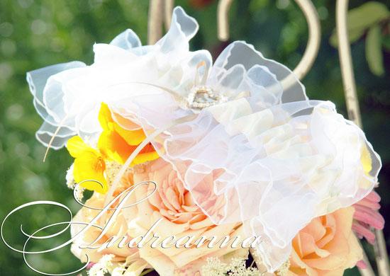 """Подвязка """"Сердечная невесомость"""", в нежных, персиковых тонах, стоимость 150 грн (уточняйте желаемый цвет)."""