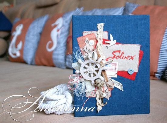 Папка для сертификата тур. фирмы Solvex, натуральные материалы, элементы декора ручной работы, формат 23х18см. стоимость 300грн (38 долларов).