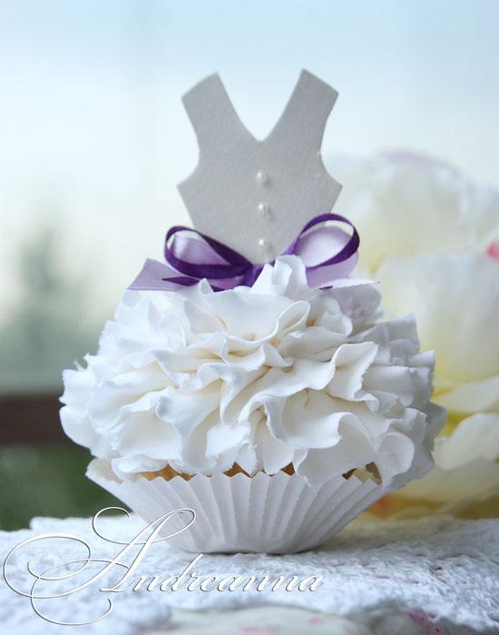 Декоративное пирожное для «завтрака невесты», стоимость 650грн
