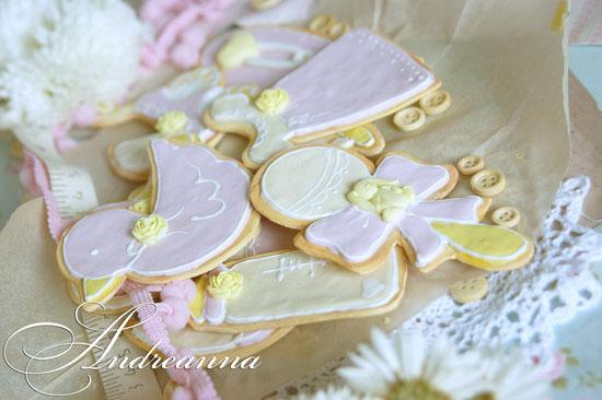 Набор имбирного печенья для малышки (НЕ СЪЕДОБНЫЙ) для фотосессии. С ароматом выпечки. Стоимость набора 650грн