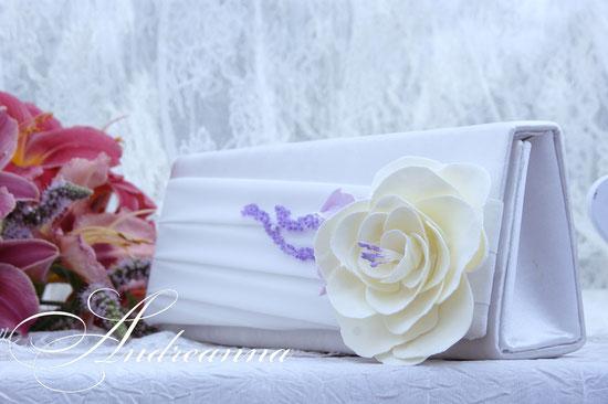 Клатч «Грани любви», цветы ручной работы, 500грн, 57$;