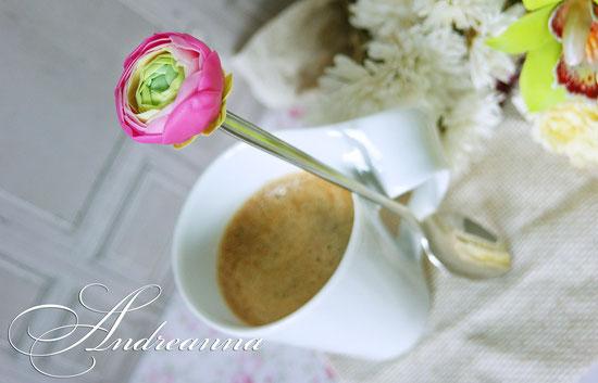 Чайная ложечка с цветком (цветок на Ваш выбор) 500грн