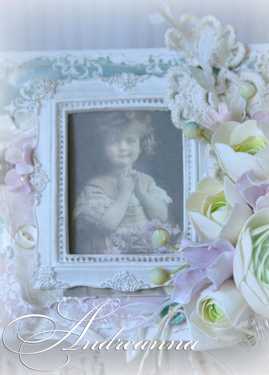 Винтажная открытка-картина. «Винтажные ранункулюсы», цветы ручной работы. Стоимость 180грн/шт.