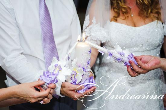 Свечи «Сиреневая орхидея Butterflies» Выполняются в любом цветовом решение. Стоимость 650 грн.(цветовое решение на Ваш выбор)