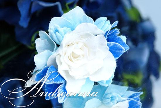 Цветы для волос, эустома, гортензия. Стоимость цветов от 35грн/шт.