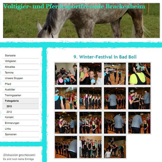 Bericht und Bilder auf der Homepage Brackenheim