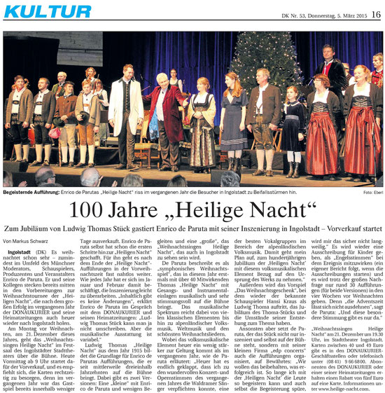 Donaukurier Gesamtausgabe v. 5.3.2015