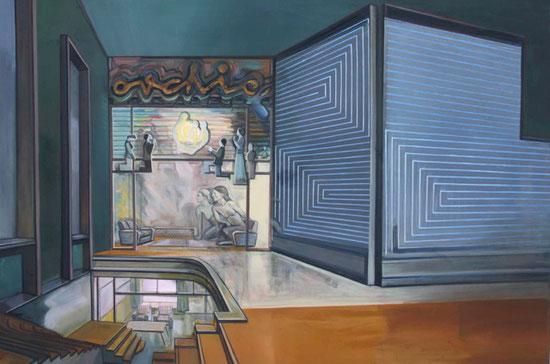 Malerei: Raum 2010 | 100 cm x 150 cm | Öl auf Leinwand