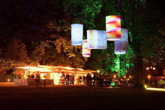 Grauer Hof Nacht der Sinne im Stadtpark Aschersleben 2019