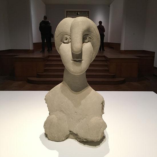 Vrouwenbuste, Pablo Picasso in Bozar