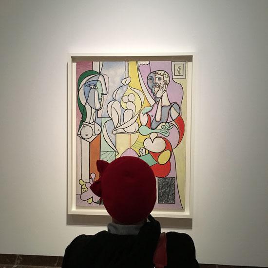 """""""Beeldhouwer"""" van Pablo Picasso met Mieke Drossaert in Bozar."""