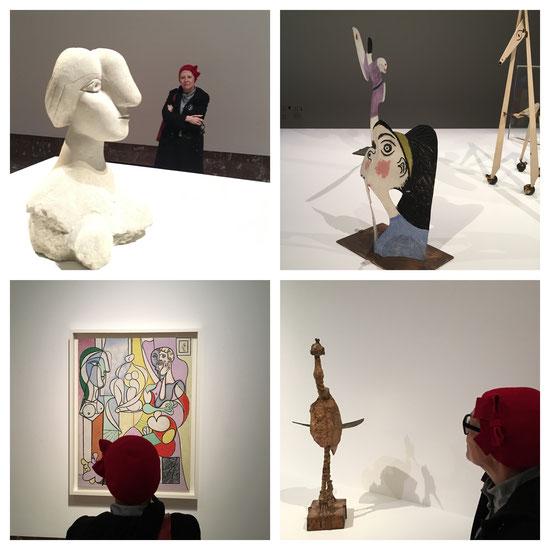 Tentoonstelling van de sculpturen van Picasso in Bozar (Brussel)