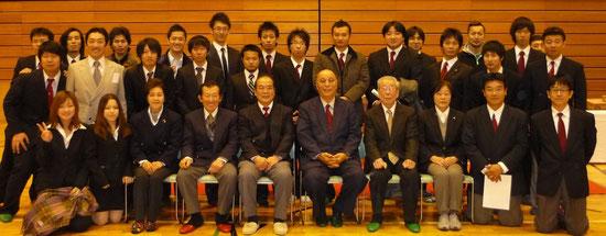 2010年 第30回記念片山招待親善試合 指導者・OB・OG