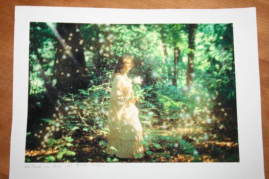 Gewand: Idee und Ausführung Beate Gernhardt,  Foto und Fotobearbeitung: Anna Hoffmann, Foto vom Foto Henriks Porciks
