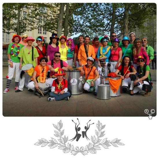 La troupe presque complète  à Montpellier