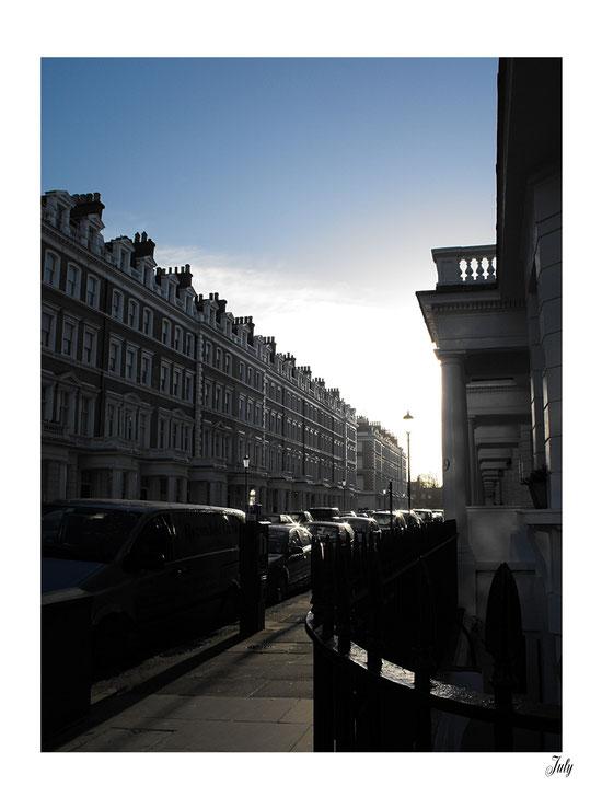 Onslow gardens, South Kensington. London
