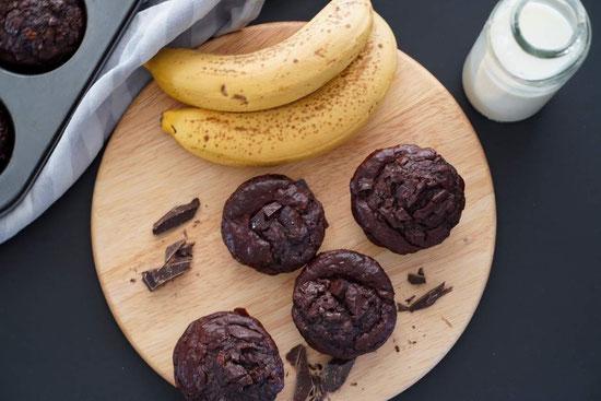 Chocolate Muffins | clean & natürlich gesüßt