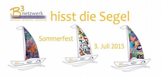 Einladung B3 Sommerfest