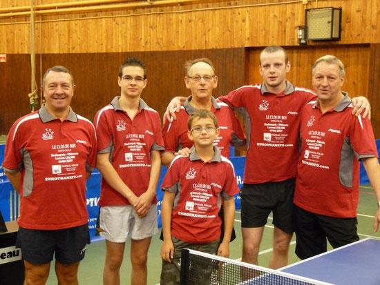 L'équipe (3) face à Longueau (3) en Départemental 1 saison 2009/2010
