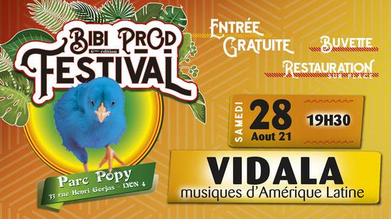 Bibi Prod Festival 28 Août 2021