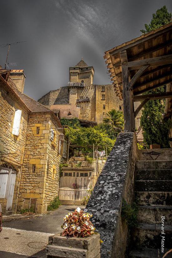 Village de Castelnaud la chapelle en Dordogne - Photo de Bernard Mazeau